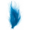 Marabou Feathers 5-6in .25lb Turquoise Blue